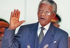 Nelson Mandela inauguratie