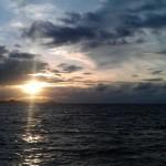 zonsondergang thailand samui