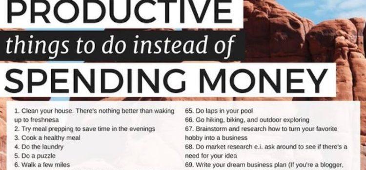 107 Alternatieven voor geld uitgeven