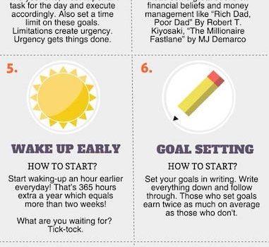 10 Tips voor meer succes