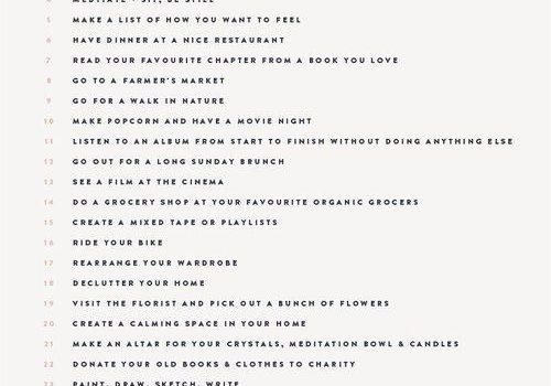 50 Dingen die je zelf kan doen