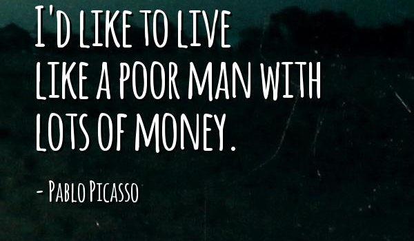 Bekende uitspraak van Pablo Picasso