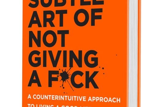 Review: The Subtle Art Of Not Giving A Fuck